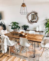 Design Your Own Dining Room Table A Simple But Comforting Dining Room Design By