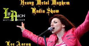 The Heavy Metal Mayhem Radio Show: Lee Aaron ,Adrian Jenkinson Of  Salem,Troy Dixler Of Sindrome & Stacey Savage Of Savage Master 4/10/1… |  Heavy metal, Troy, Adrian