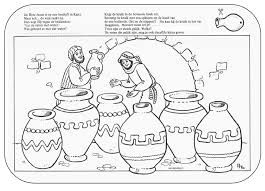 Bruiloft In Kana Bijbelse Kleurplaten Iglesia Niños Milagros De