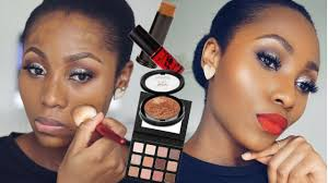 trying out new makeup first impressions makeup tutorial dimma umeh
