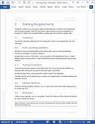 Training Agenda Template Microsoft Word Beautiful Training