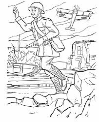 Small Picture Armed Forces Day Coloring page US Army World War I battlefield