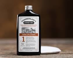 chamberlain s leather milk leather care liniment no 1 leather conditioner