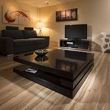 modern square coffee table. Extra Large Modern Square Piano Black Gloss 1.2 Mtr Coffee Table 397E