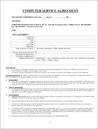 Agreement In Word Custom Service Agreement Template Word Level Pdf Contract