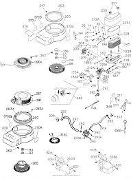Tecumseh ohv17 204603a parts diagrams