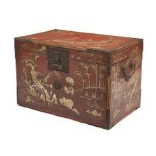 red lacquered furniture. Rare And Large Red Lacquered Trunk From Ryūkyū Islands (Okinawa), · Furniture D
