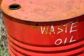 waste oil barrel1