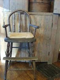 vintage wooden high chair antique high chairs wooden