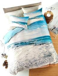 ocean bedspread beach bedding by scene ocean bedspread cotton blue bed sheets