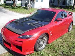 mazda rx8 modified red. 04 mazda rx8 modified rx8 red