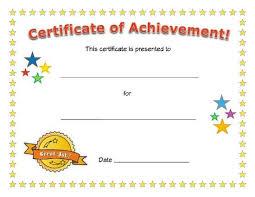 Elementary School Certificate Templates Fr Award Certificate