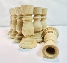 cake whole 3 wood candlestick holders diy wedding accents home decor cake