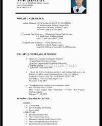 Resume Template Magnificent Examples College Students For ...