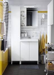 disabled bathroom equipment ireland. a black, white and yellow bathroom with lillÅngen/tallevik washbasin cabinet in disabled equipment ireland r