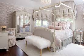 Chicago Farmhouse Canopy Bed Victorian Bedroom with mirrored ...