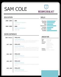 Resume Templates Best Mesmerizing Best Resume Template 28 That Wins