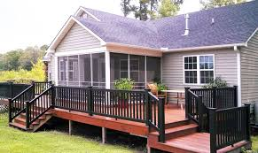 Types of deck railings Railing Ideas Black Deck Railings Friel Lumber Types Of Deck Railings You Will Love Friel Lumber Company