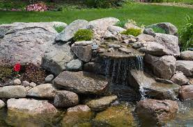 how to build a waterfall for your pond