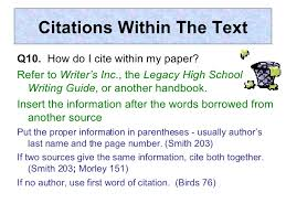 How To Cite A Quote In An Essay