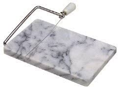 White Marble Cheese Cutting Board - 8 x 5 inch