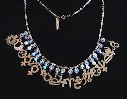Zodiac Chart Birthday Necklace Tamara Designs