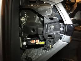 tried to hardwire my escort radar detector on the new q7  at Audi A4 Fuse Box Location 2017 Footwell