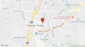 Walnut Creek California Map