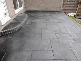 slate patio tiles best outdoor flooring black slate patio tiles for small narrow patio flooring