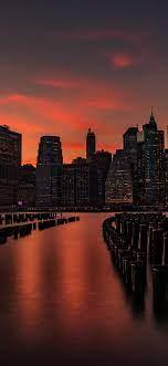 New York Iphone X Wallpaper 4K