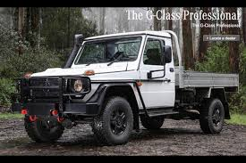 There's a Pickup Version of the Mercedes G-Class in Australia ...