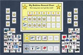 Details About Bedtime Routine Schedule Reward Chart Bundle Morning Evening Autism