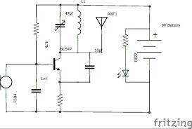 fm transmitter Wiring Schematic Diagram 200m Fm Transmitter Simple Circuit mini fm transmitter