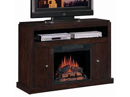 view images electric fireplace with tv stand