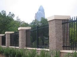 metal fence design. Steel Ameristar Montage II Industrial Fence Metal Design