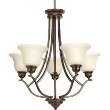 progress lighting p4605 20 spirit chandelier antique bronze