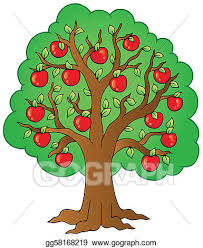 fruit tree clipart. Plain Fruit Apple Tree Clip Art With Fruit Clipart I