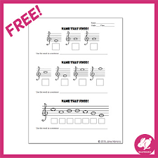 music notes in words treble clef music note puzzle