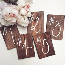 rustic wooden wedding table numbers wedding table numbers rustic wooden signs no styl on rustic wooden