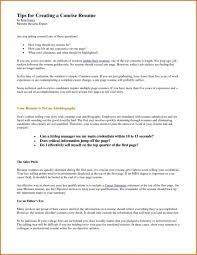 How Long Should My Resume Be Practicable Captures One Page New How