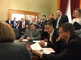 senate panel advances bill require statewide minimum wage iowa minimum wage hearing
