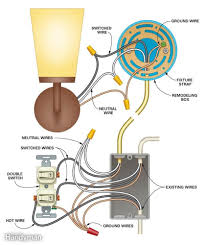 Home Light Switch Diagram How To Add A Light Home Electrical Wiring Electrical
