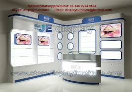 Mobile Display Cabinet For Young Lady Skin Beauty Medical Corner Display Cabinet And