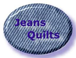 Blue Jeans Quilts - easy denim quilts made from recycled jeans for ... & Blue Jeans Quilts - easy denim quilts made from recycled jeans for frugal  quilting Adamdwight.com
