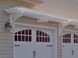 garage door arborTrellis Over Garage Door And Liftmaster Garage Door Opener On Wood