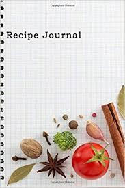 Recipe Journals Buy Recipe Journal Spiral Look Notebook Cooking Journal
