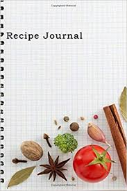 recipe journal spiral look notebook cooking journal lined and numbered blank cookbook 6 x 9 180 pages recipe journals recipe journal diary journal