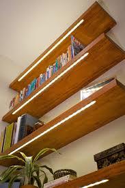 lighting bookshelves. elemental led lighting bookshelves