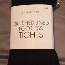 Maurices Xl Size Chart Tights Fleece Lined Tights From Maurices Brand New In