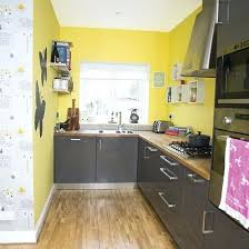 Image Brown Yellow Kitchen Walls Interior Grey And Yellow Kitchen Brilliant Decorating Kitchens Ideas Inspiration Regarding From Donateyourcarclub Yellow Kitchen Walls Interior Grey And Yellow Kitchen Brilliant